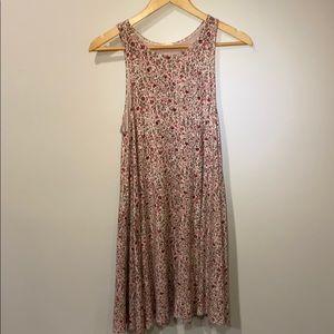 A floral Garage sleeveless t-shirt dress